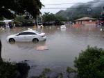 경남도 기록적 폭우에 곳곳 침수…화개장터도 범람