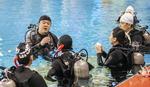 부산아시아영화학교, 수중촬영 교육 진행