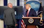 백악관 코앞서 '탕'…트럼프, 브리핑 중 긴급 대피