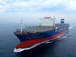 현대중공업그룹 세계 첫 LNG 추진 컨테이너선 건조