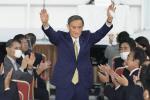 """""""안중근은 범죄자"""" … 한국과 대립각 세웠던 일본 새 총리 스가는"""