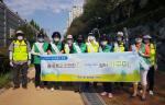 """사상구 주례1동""""주-례일(rail) 쉼터 가꾸미"""" 방역 활동 및 환경정비 실시"""