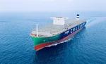 세계 최대 LNG 추진 컨선 부산 온다