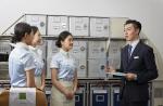 신라대 항공대학 학생들, 에어부산 비행체험