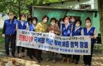 한국자유총연맹 명륜동분회, 저소득 건강취약계층 방역 및 마스크 전달