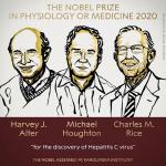 노벨 생리의학상 수상자는 C형 간염 발견한 연구진 3명