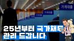 [뭐라노]'국가채무 60% 이내로'…한국형 재정준칙 내용은