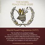올해 노벨평화상에 세계식량계획(WFP)…25번째 단체 수상자