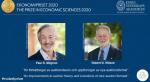 노벨경제학상에 경매이론 대가 美밀그럼·윌슨 수상