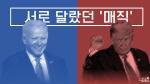 [뭐라노]반전 거듭한 미 대선…우편 투표 시작되자 바이든 강세(그래픽)