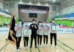 부산환경공단, 여자 세팍타크로팀 회장기 대회 10연패 달성