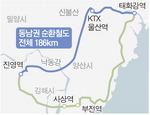 부울경 잇는 동남권 순환철도 '청신호'