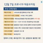 [카드뉴스] 부산 코로나19 대응 브리핑
