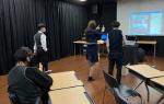 경성대학교 교육대학원 연극교육전공, 화신중학교에서 TIE 프로그램 진행