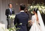 정총리, 20대 커플 결혼식서 '깜짝 주례'