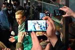 러시아 야권 지도자 나발니 공항에서 체포