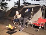 캠핑 요기요 <1> 김해 신어산 자연숲 캠핑장