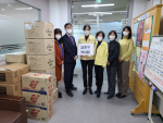 금정구약사회, 보건소에 마스크·건강음료 전달