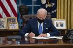 """바이든 """"트럼프 정부의 국경정책 잔인"""""""
