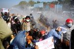 """미일 """"미얀마 국민 평화시위 지지"""""""