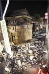 후쿠시마 지진에 원전 수조 물 넘쳐