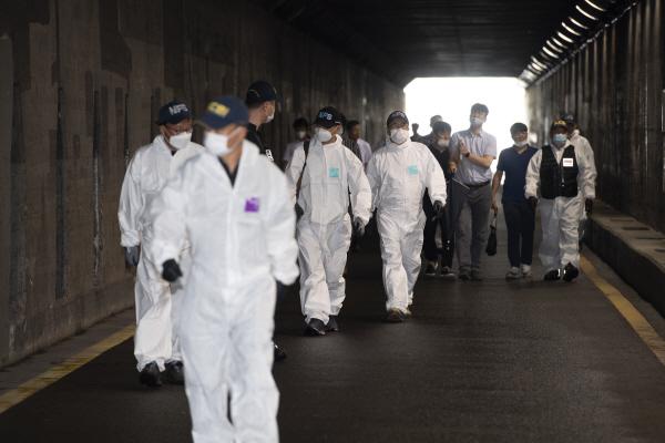 초량 지하차도 참사 당시 총괄책임자 부구청장 23일 영장실질심사