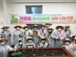 거제1동, 부산시 도시농업 치유농업 프로그램 시범사업 선정