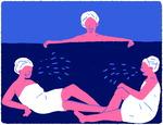 목욕탕서 식사·계모임…'사랑방 문화'가 코로나 키웠다