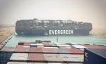 선박이 뱃길 막은 수에즈 운하…통항 재개 수주 걸릴 수도
