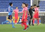 일본 전반에만 2골…답답한 한국축구