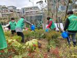 중2동 새마을단체, 식목일 기념 나무심기 실천