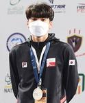 부산외국어대 최동윤, 세계청소년선수권 은메달