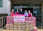 우1동 원불교 해운대교당, 사랑의 김치 60박스 전달