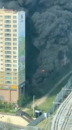 대형마트 입점한 남양주 주상복합건물서 화재…수백 명 긴급대피