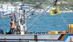 일본 원전 오염수 방류 규탄, 거제지역 어민 해상시위