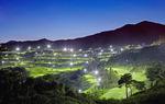 양산컨트리클럽, 27개 홀 밝힌 야간 라운딩 특전 풍성…낮엔 천성산 절경 속 굿샷