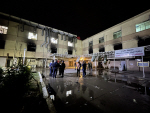 """이라크 코로나19 치료 병원서 화재 발생 … 당국 """"82명 사망"""""""