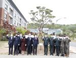 동아대, 육군학생군사학교에 교목(소나무)·교화(목련) 식수