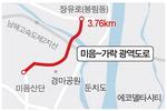 광역교통망 '미음~가락' 도로 뚫린다