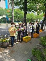 남천2동 봄맞이 초화식재 및 초화 나눔 실시(2차)