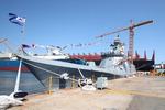 대우조선, 2800t급 해군 신형 호위함 '대전함' 진수식