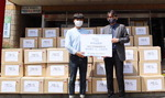 코끼리공장, 부산지역 장애인복지관에 성품 기탁