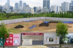 부산시민공원 3m 파니 '기름 범벅'