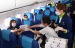 고도 3000m 비행기 안…초등생 승무원의 꿈을 이룬 하루