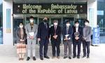 부산TP, 주한 라트비아 대사와 기술 협력 방안 논의