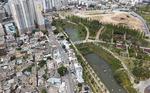 시민공원 땅밑 오염 퍼졌다면, 주변 재개발 차질 부를수도
