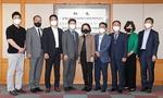 국제아카데미 18기 임원단 본사 방문