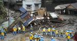 일본 폭우에 산사태 인명 피해
