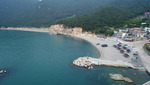 [바캉스 특집-경남 거제시] 아늑한 여차몽돌해수욕장…수국 핀 해안길도 자태 뽐내