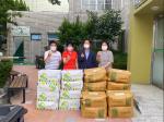 더 숲 조경건설, 덕포2동에 농산물(옥수수,감자) 20박스 기부